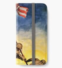 7th War Loan, Now... - Vintage War Military Poster iPhone Wallet/Case/Skin