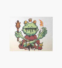 Frog King Art Board