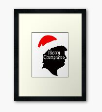 Merry Trumpness Framed Print