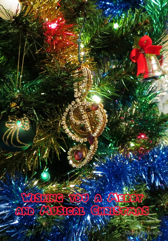 A Christmas Card for Musicians and Lovers of Music by MidnightMelody