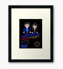 NINTENDO: NES Torchwood  Framed Print