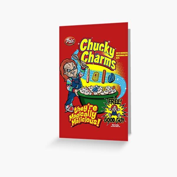 Chucky Charms Greeting Card