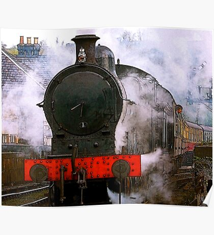 The Train Leaving Poster