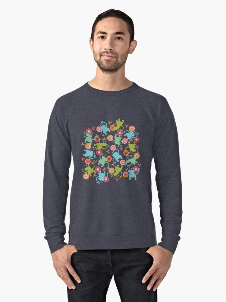 Spaced Out! Lightweight Sweatshirt Front