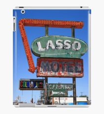 Route 66 - Lasso Motel iPad Case/Skin