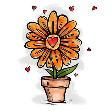 Flower in love by rafo