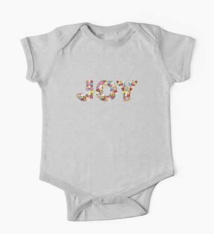 JOY Spring Flowers Kids Clothes