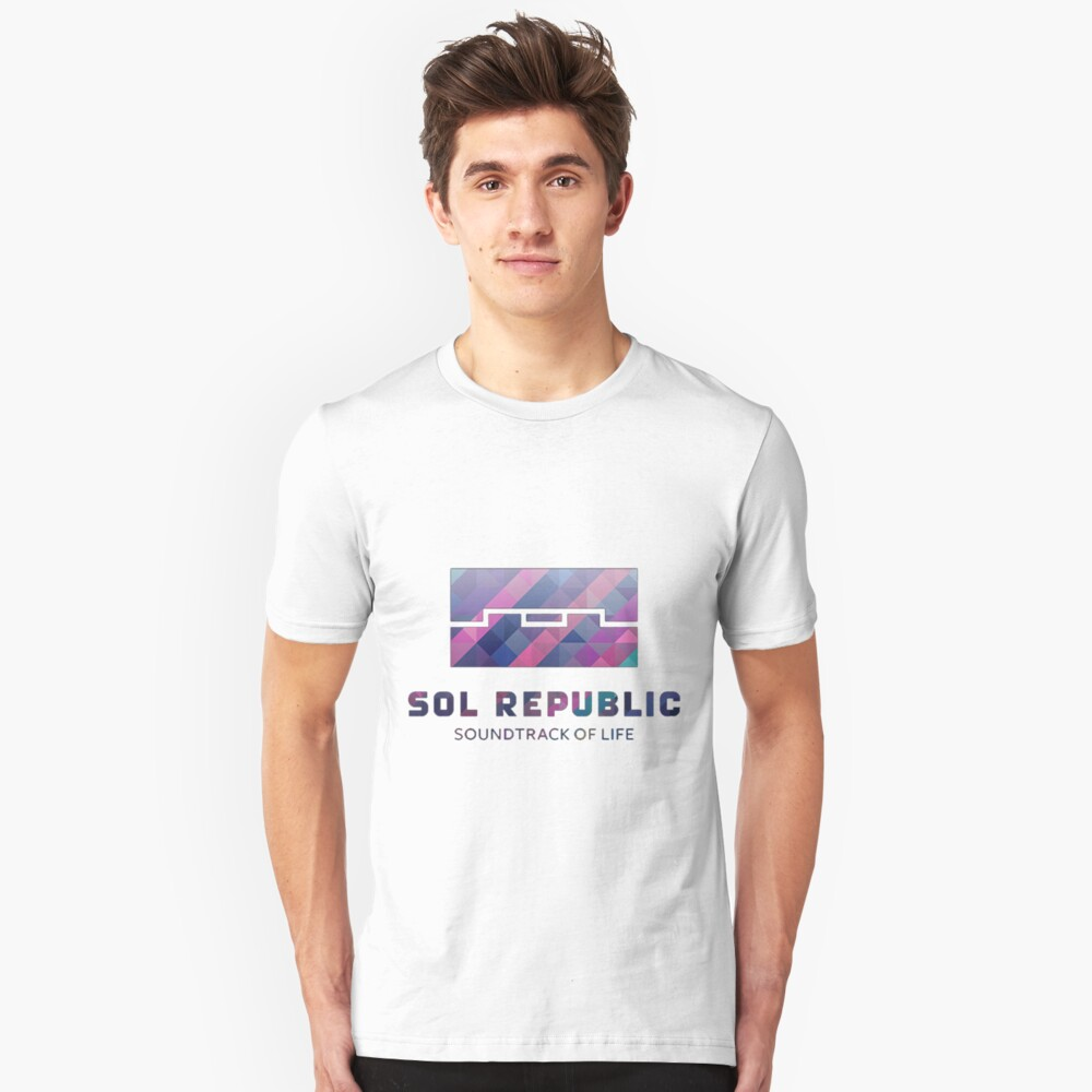 Sol Republic Abstract Logo Unisex T-Shirt Front