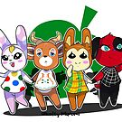 Animal Crossing Pocket Camp Friends by noxity