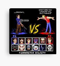 Super 80's Good Vs. Evil 2! Canvas Print