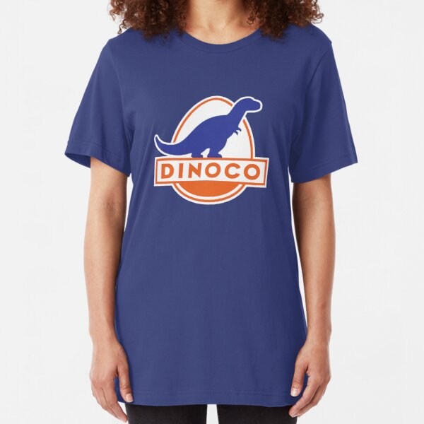Dinoco (Cars) Slim Fit T-Shirt