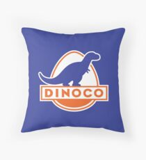 Dinoco (Cars) Throw Pillow