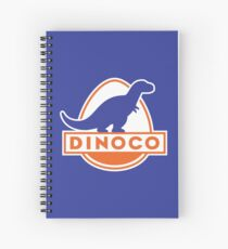 Dinoco (Cars) Spiral Notebook