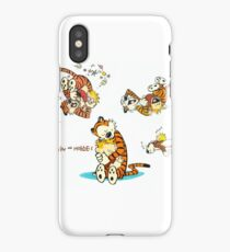 Calvin and Hobbes 9 iPhone Case/Skin