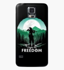 I fight for FREEDOM Case/Skin for Samsung Galaxy