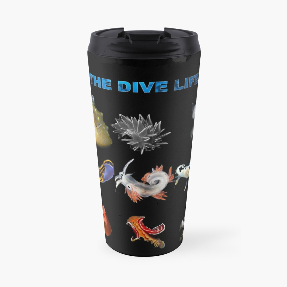 The Dive Life - Nudibranch Travel Mug