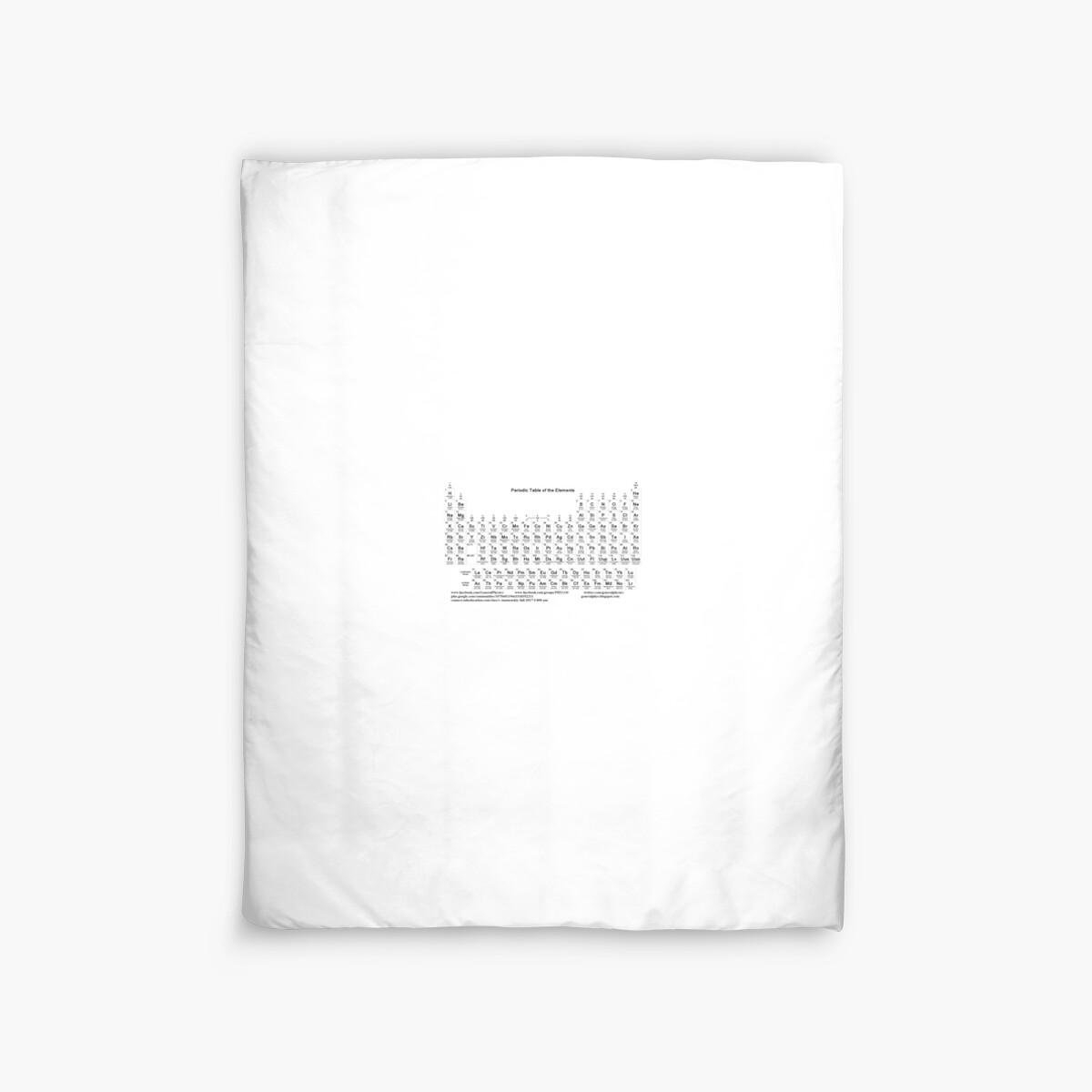Periodic table duvet covers by znamenski redbubble periodic table by znamenski urtaz Image collections