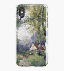Adolf Kaufmann Spring iPhone Case/Skin