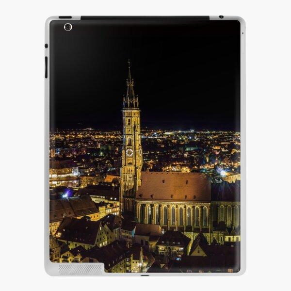 Landshut bei Nacht iPad Klebefolie