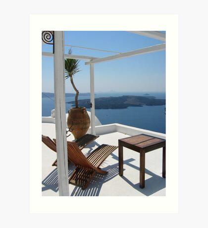 Aegean Lifestyle Art Print