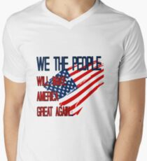 WE THE PEOPLE will make american great again T-Shirt