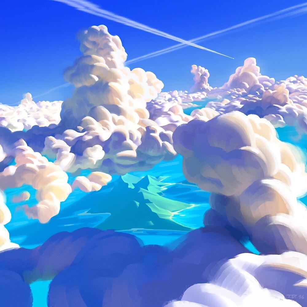 Ocean Clouds by Thorsten Denk