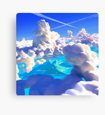 Ocean Clouds Canvas Print