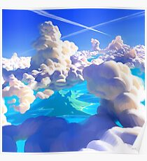 Ocean Clouds Poster