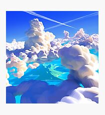Ocean Clouds Photographic Print