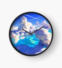 Ocean Clouds Clock