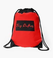 Tony DuPuis Signature #4 Drawstring Bag