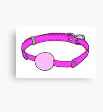 Pastel Ball Gag  Canvas Print
