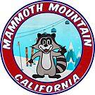 Skiing Mammoth Mountain California Ski Vintage Laptop  by MyHandmadeSigns