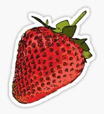 Strawberry Storm Sticker