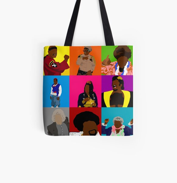 You So Crazy All Over Print Tote Bag