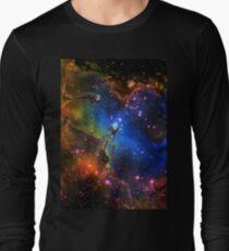 Galaxy Eagle Long Sleeve T-Shirt