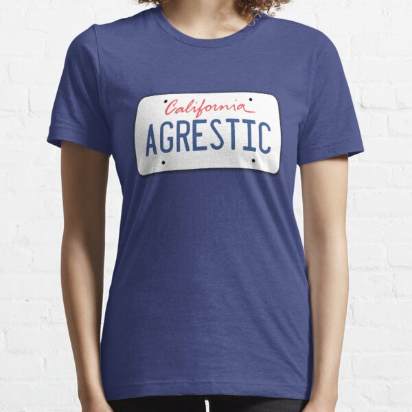 Weeds Agrestic California License Plate Essential T-Shirt