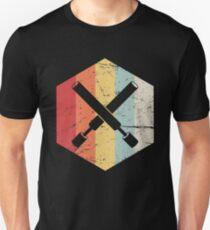 Retro Vintage LARPing Swords Unisex T-Shirt