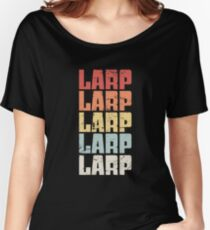 Vintage LARP Text | LARPing Women's Relaxed Fit T-Shirt