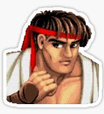 Street Fighter Stickers   Ryu Sticker