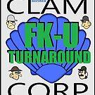 Clam Corp FK-U Turnaround by boydanimation