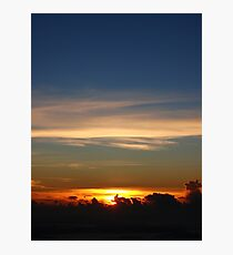 The Sky Before the Sun Photographic Print