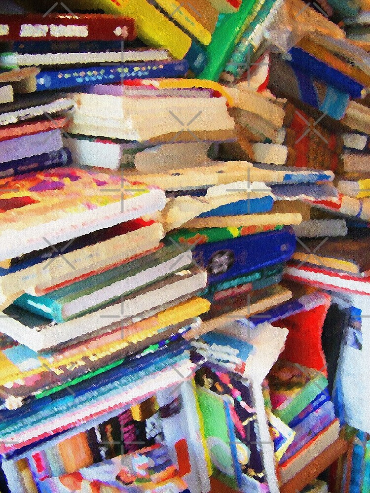 Stacks of Books by perkinsdesigns