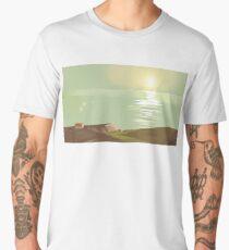 Silence in the paradise Men's Premium T-Shirt