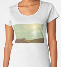 Silence in the paradise Women's Premium T-Shirt