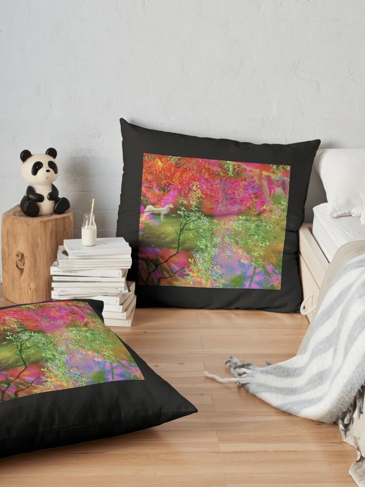 Alternate view of Breathe Of Spring Floor Pillow