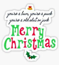 Pogues Christmas  Sticker