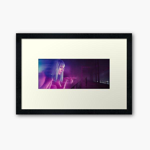 Blade Runner 2049 - Joi Gerahmter Kunstdruck