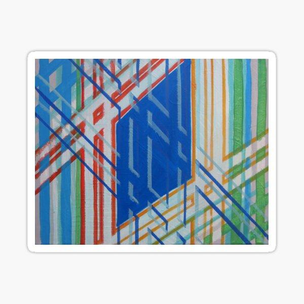 Diamonds&Stripes Sticker