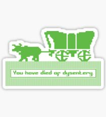 The Oregon Trail Sticker